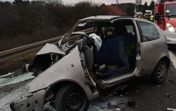 Wypadek Rosnówko fot. OSP Strykowo