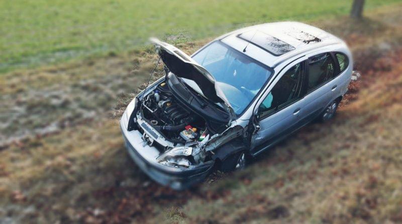 wypadek w Golinie fot. OSP w Golinie
