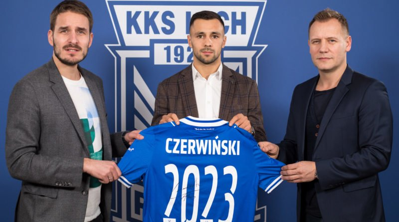 Alan Czerwiński fot. Lech Poznań Przemysław Szyszka
