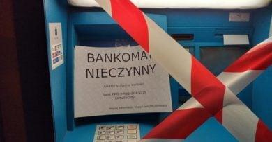 bankomat fot. Extinction Rebellion
