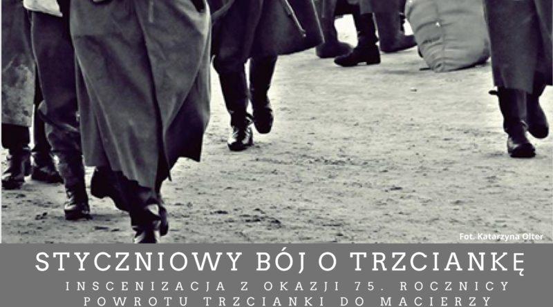 boj o trzcianke 2 fot. mzn w trzciance 800x445 - Trzcianka: Żołnierze ponownie zdobywali miasto. Z czołgiem!