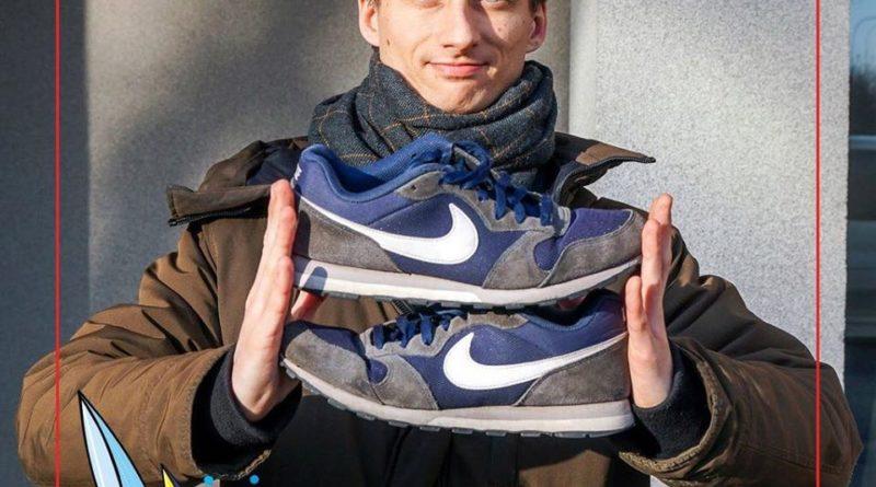 Poznań: Poseł Sterczewski oddaje swoje słynne buty. Dla WOŚP
