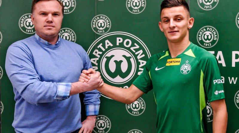 Jakub Apolinarski fot. Piotr Leśniowski Warta Poznań