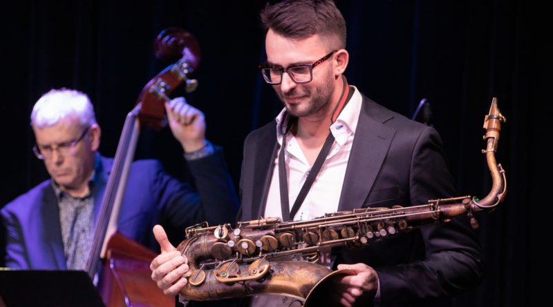 jarek kostka quartet. jazz contra bach fot. slawek wachala 7604 800x445 - Poznań: Jarek Kostka Quartet - i Bach