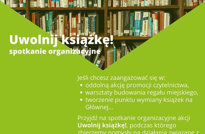 Poznań: Na Głównej uwalniają książki