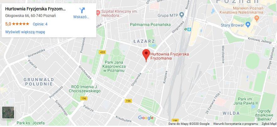lokalizacja hurtowni fryzjerskiej fot. art. sponsorowany - Najlepsza hurtownia fryzjerska w Poznaniu. Zobacz hurtownie na Głogowska 66!