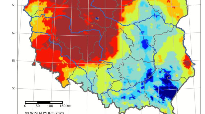 Poznań: Mamy suszę! Stan rzeki w styczniu najniższy od lat