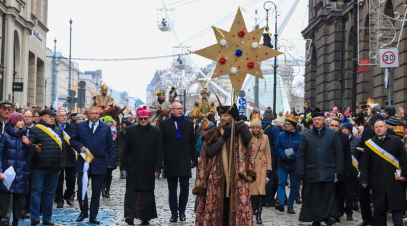 Poznań: Orszak Trzech Króli przeszedł przez miasto