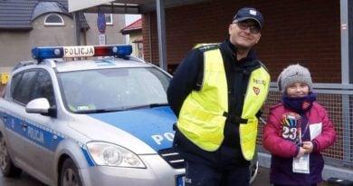 Policja na WOŚP fot. policja
