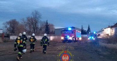 Pożar, fot. OSP Węgierki