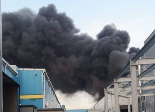 pożar Malanów fot. OSP