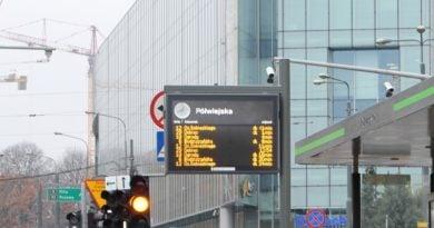 Tablica Informacji Pasażerskiej fot. MPK