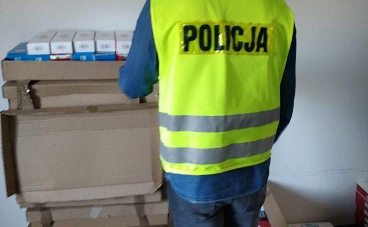 tyton fot. policja 720x445 - Koło: Zatrzymany za nielegalny tytoń