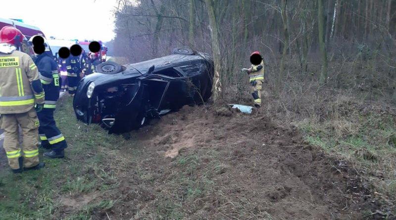 wypadek 3 fot. osp osieczna 800x445 - Osieczna: Wypadek na drodze do Bojanic