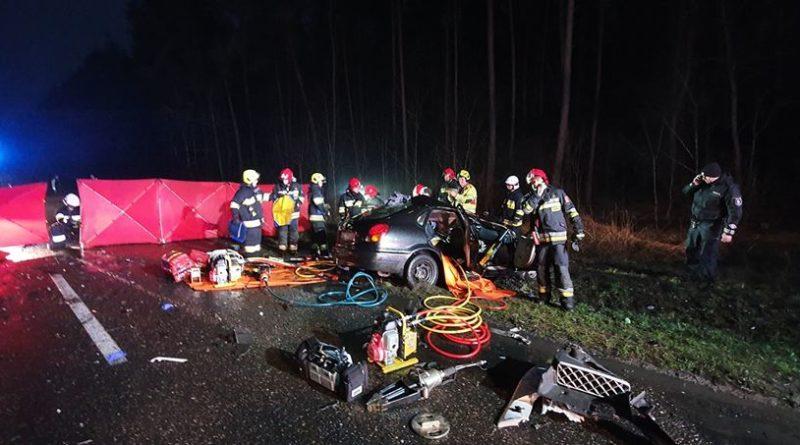 Mosina: Wypadek na drodze do Żabinka. Jedna ofiara śmiertelna