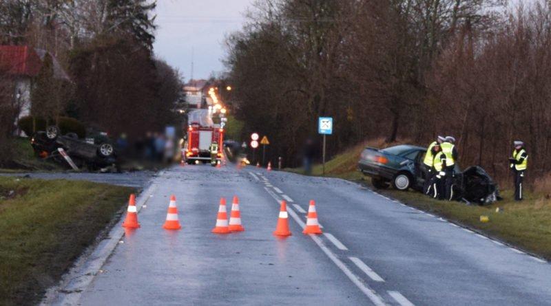 Wypadek archiwum fot. policja Trzcianka