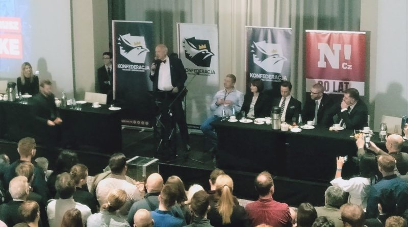 zjazd konfederacji 1 800x445 - Poznań: Konfederacja zaprezentowała kandydatów na prezydenta RP