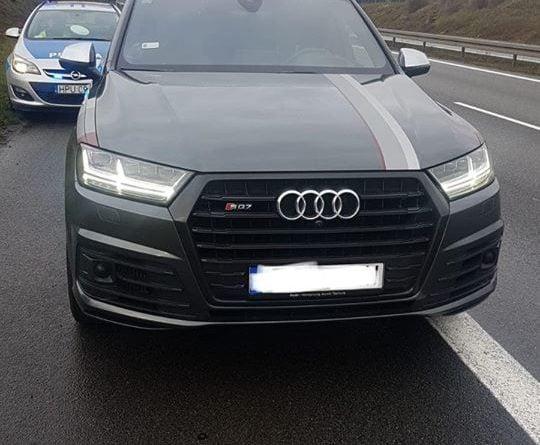 akcja autostrada 2 fot. policja 540x445 - Poznań: Złodziej samochodów zatrzymany na autostradzie