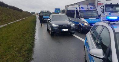 akcja autostrada fot. policja