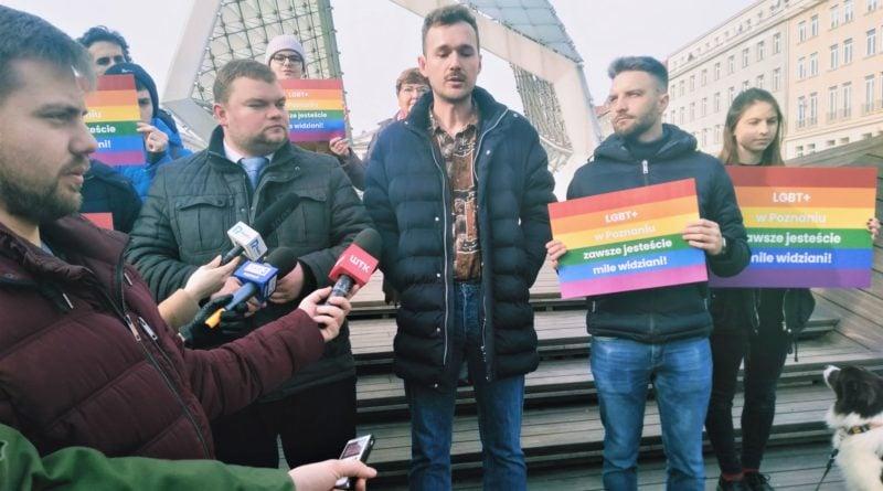 Akcja LGBT+ 2 w Poznaniu