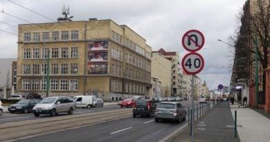 Głogowska nowe znaki fot. ZDM