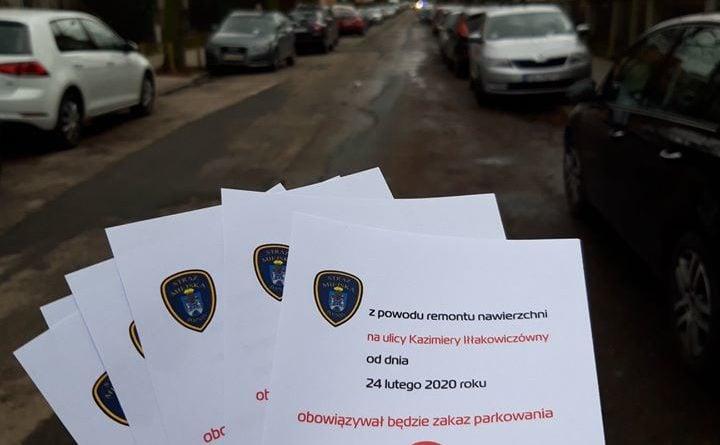 gruneald parkowanie 2 fot. smmp 720x445 - Poznań: Remont na Grunwaldzie - kierowcy, przeparkujcie samochody, prosi straż miejska