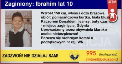 Ibrahim child alert