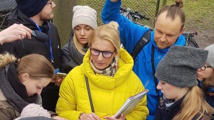 Inwentaryzacja drzew Łazarz fot. ROŚŁ