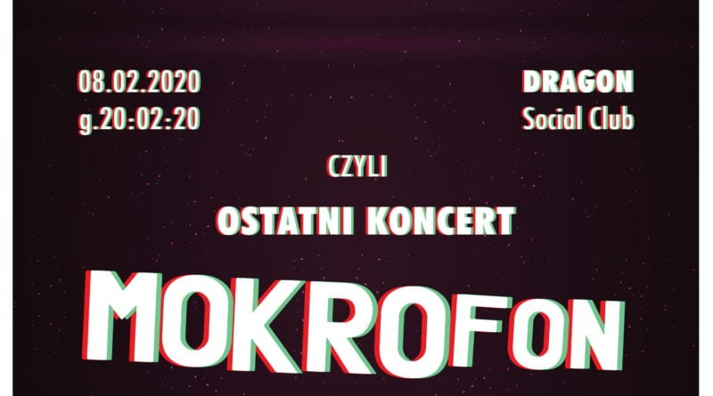 koncert mokrofon koniec rgb 800x445 - Poznań: Game Over- ostatni koncert Mokrofon