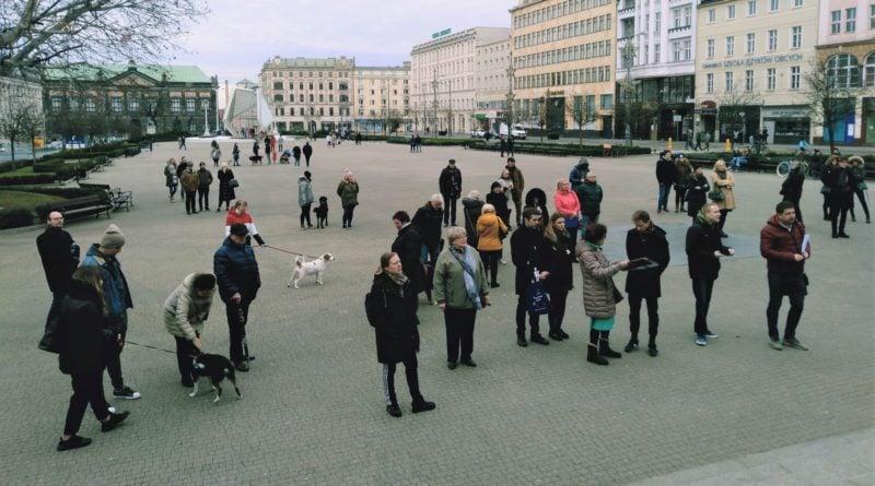 Poznań: Demonstrowali w obronie zwierząt
