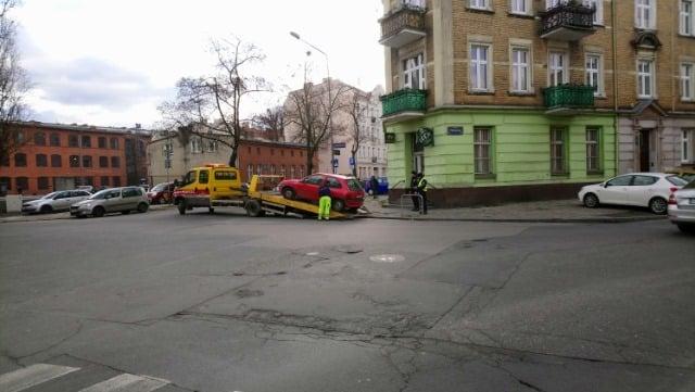 Nielegalne parkowanie fot. straż miejska