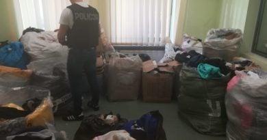 podrobiona odzież fot. policja