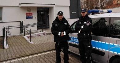 policjanci Tarnowo Podgórne fot. policja