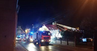 pożar fot. OSP Pecna
