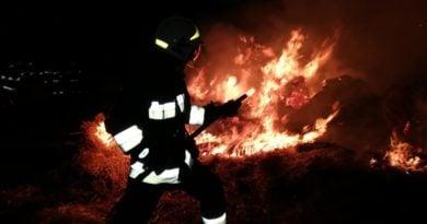 pożar fot. OSP Skoki