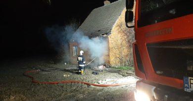 pożar fot. OSP Witaszyce