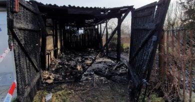 pożar Gniezno fot. policja