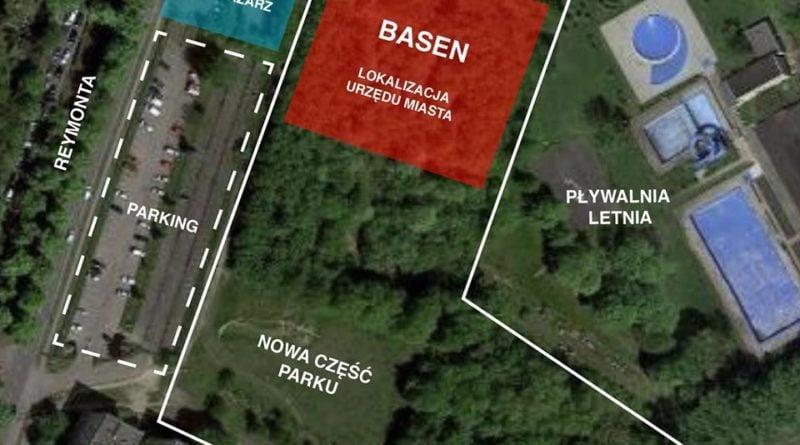 projekt basenu w parku kasprowicza 800x445 - Poznań: Budowa pływalni w parku Kasprowicza - miasto wydało oświadczenie