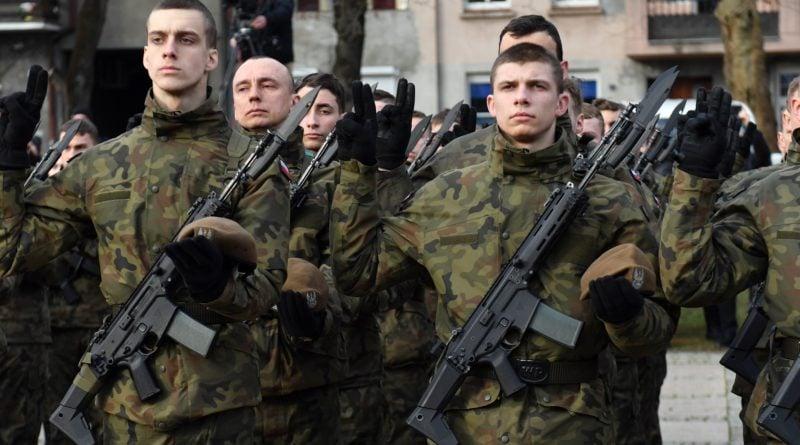 przysiega 2 fot. wot 800x445 - Pierwsza przysięga żołnierzy WOT w Lubuskiem