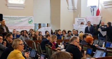 sesja rady miasta poznania 11.02.2020 fot. slawek wachala 5941 390x205 - Poznań: Grzegorz Ganowicz złożył zawiadomienie do prokuratury. W sprawie zajść na ostatniej sesji