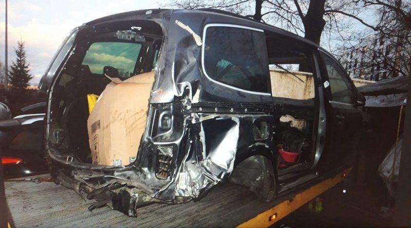 skradziony samochód fot. policja