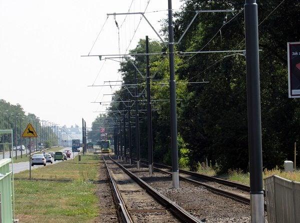 Trasa tramwajowa na Milostowo fot. ZTM