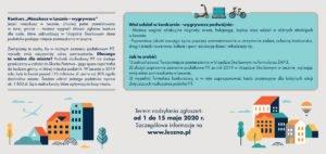 ulotka konkursowa 2 fot. um leszno 300x142 - Leszno: Władze miasta organizują konkurs dla płacących podatki. Można wygrać laptop!
