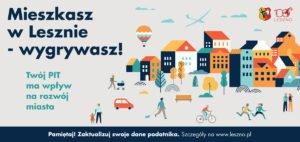 ulotka konkursowa fot. um leszno 300x142 - Leszno: Władze miasta organizują konkurs dla płacących podatki. Można wygrać laptop!