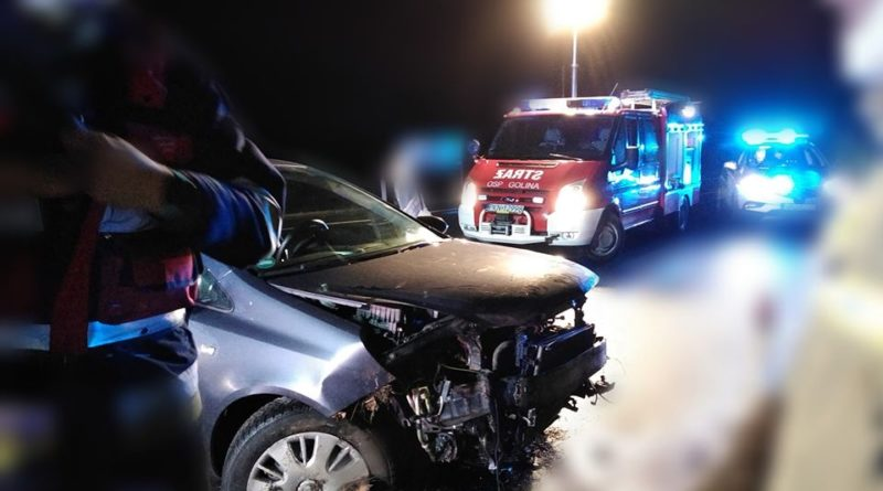 wypadek 2 fot. osp golina 800x445 - Konin: Wypadek w Golinie Kolonii
