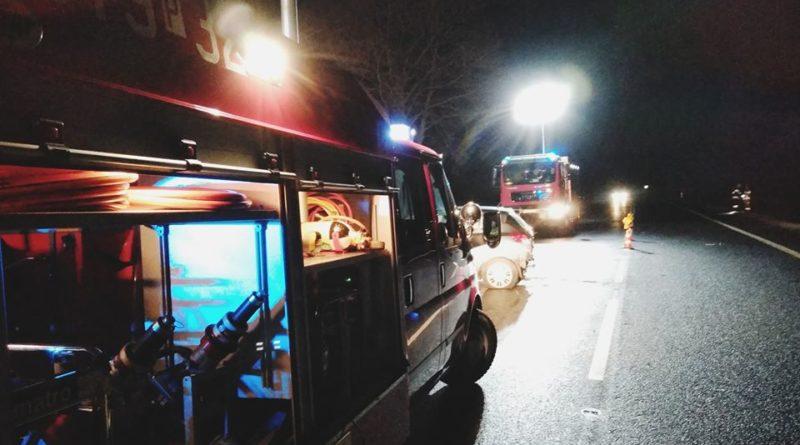 wypadek 3 fot. osp golina 800x445 - Konin: Wypadek w Golinie Kolonii