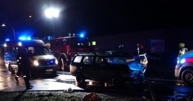 Wypadek 4 fot. PSP Gniezno