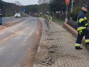 wypadek Kamionna fot. policja
