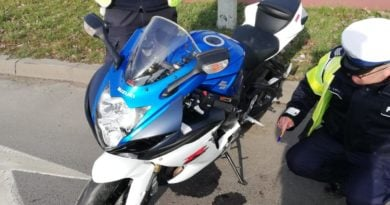 wypadek Konin fot. policja
