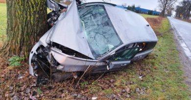 wypadek Oborniki 2 fot. policja